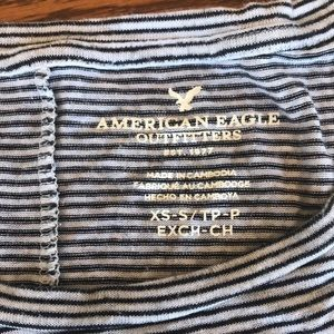 American Eagle Outfitters Tops - Striped American eagle T-shirt